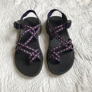 Womens Double Toe Strap Chaco Sandals